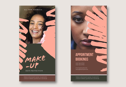 Makeup Flyer Layout