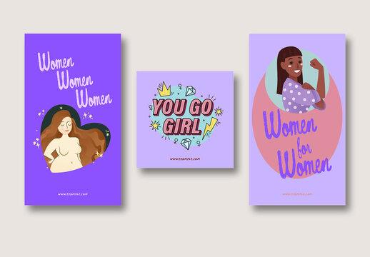 Women's Day Social Media Layout