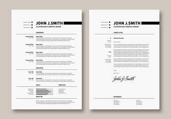 Minimal Resume Layout