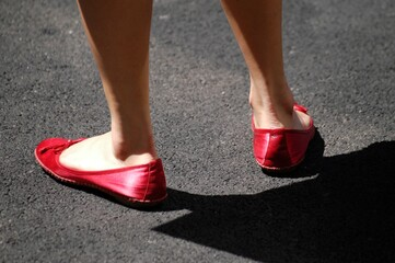 Feet on the Street, Red Shoes