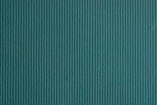 abstract texture of light blue room Wallpaper with voluminous vertical wavy lines