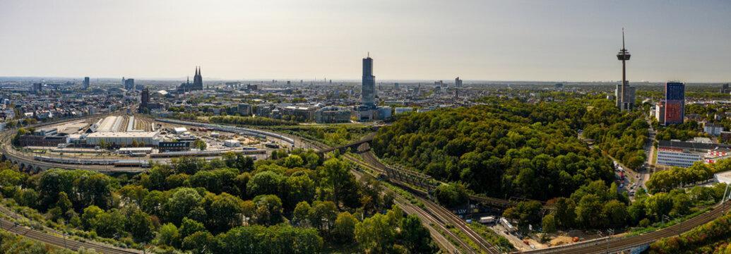 Köln Nippes Panorama Luftbild Gigapixel Aerial