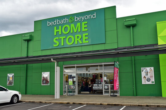AUCKLAND, NEW ZEALAND - Apr 11, 2019: Bed Bath & Beyond Home Store in Manukau