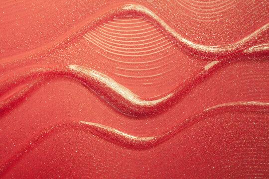 Smear lipstick background texture smudged