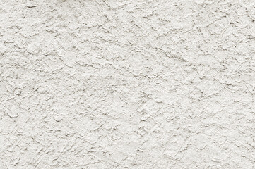 Texture of white plastered wall.
