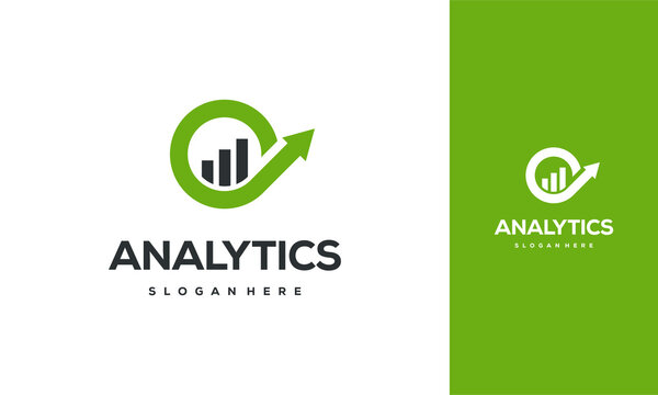 Simple Analytic Logo designs template, Business Insight logo