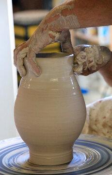 Keramik Manufaktur Remmy in Betschdorf, Elsass, Frankreich, Europa