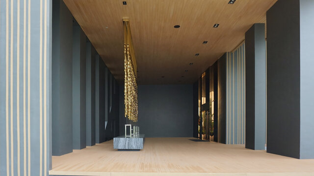 Luxury style interior & exterior decoration design