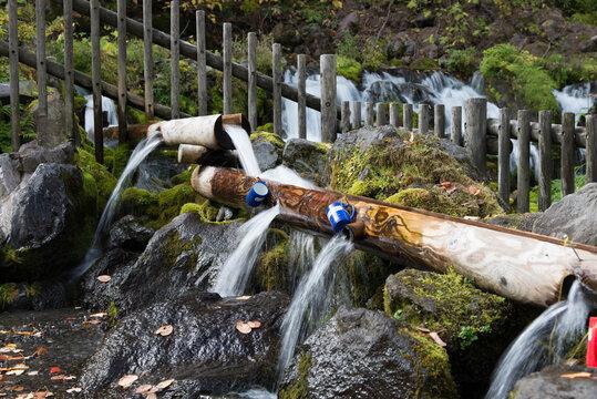 京極吹上公園の水飲み場