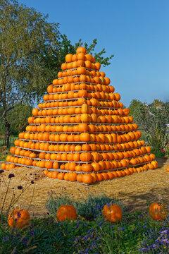 Kürbis-Pyramide