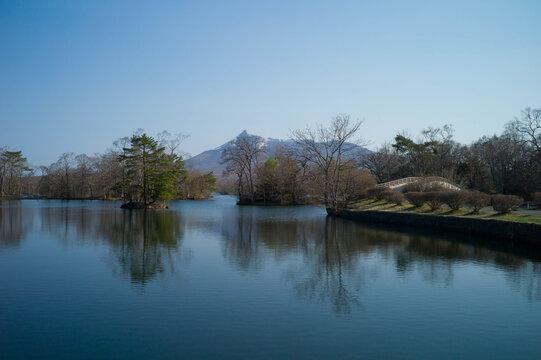 大沼と駒ヶ岳