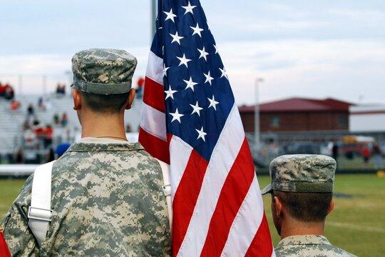 ROTC and Flag