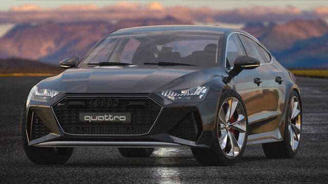 Audi RS 7 , executive car produced by Audi