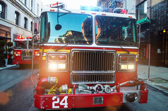 firefighters of new York