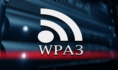 New protocol WPA3 network security.