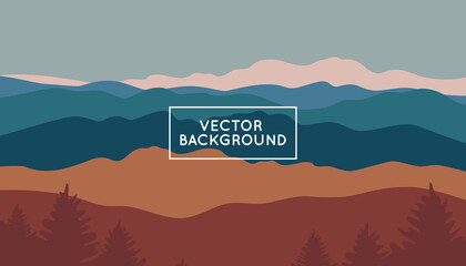 Vector abstract creative background in minimal trendy style with copy space for text - design template for social media stories