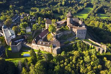 Castle Sovinec is located in Moravia in the Czech Republic