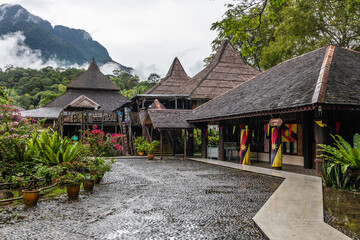 Wall Murals Flower shop Sarawak Cultural Village and museum
