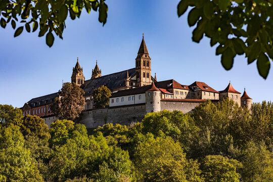 Die Comburg bei Schwäbisch Hall ist ein ehemaliges Kloster der Benediktiner