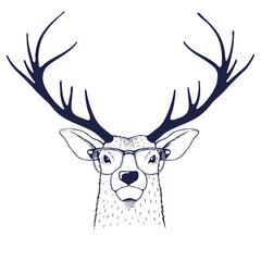 Deer in glasses