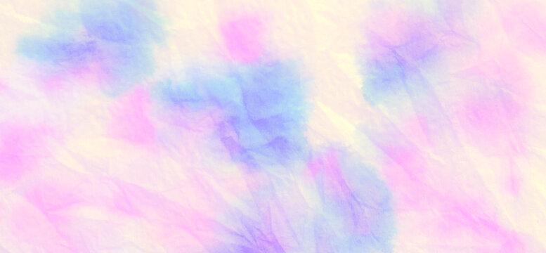 Tie Dye Splashes. Batik Wallpaper. Shibori Dyeing. Boho Tie Dye Splashes. Vanilla Purple Pink. Gentle Clouds Motif. Gentle Art Print. Brush Stroke Painting.