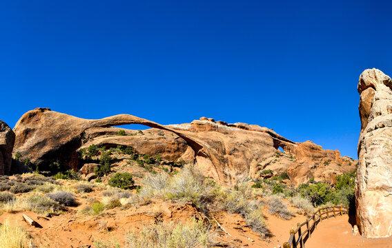 Landscape Arch at Arches National Park, Utah