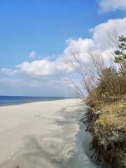 Morze piasek i plaża