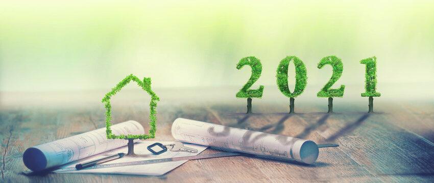 2021, maison verte, projet immobilier