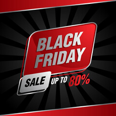Black Friday Sale discount up to 80%