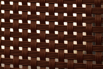 Brown grid - background for subtitles or graphics, texture in nature colors