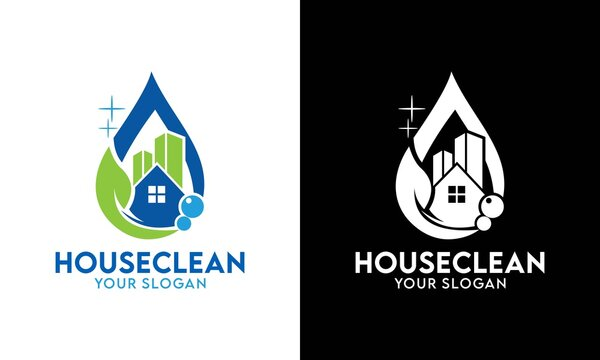 House Cleaning Service Business. logo design templates