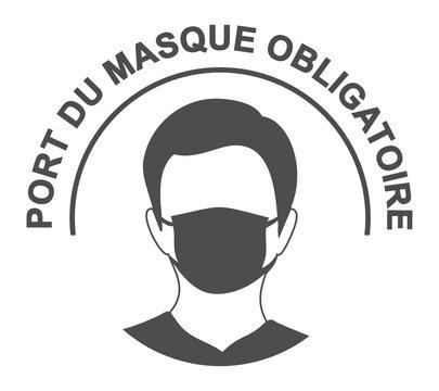 port du masque obligatoire covid 19 coronavirus