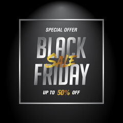 Black Friday Sale discount up to 50%