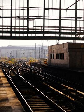 Train Station in Berlin