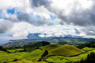 Clouds over São Miguel, Azores