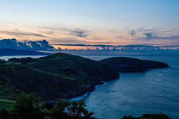 Sunset over São Miguel, Azores
