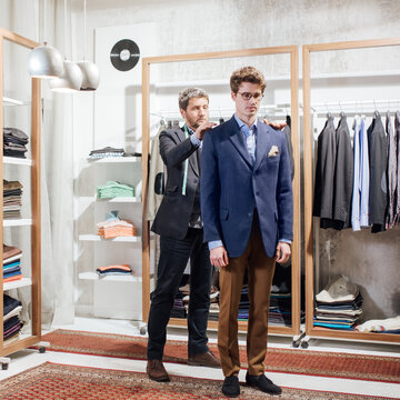 Man on Suit Fitting