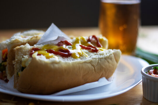 hot dog typical of the City of São Paulo.