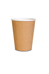 A coffee cup on white background
