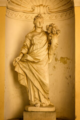 Statue of the goddess of fertility and abundance.