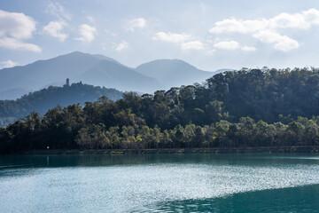 landscape of Sun Moon Lake