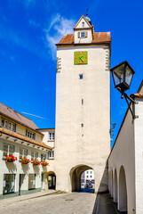 old town of Isny im Allgau