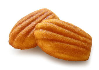 freshly baked Madeleines cakes