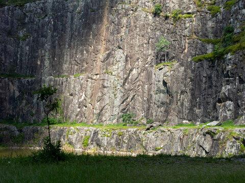 Quarry disabled rock wall - rock climbing spot in Brazil