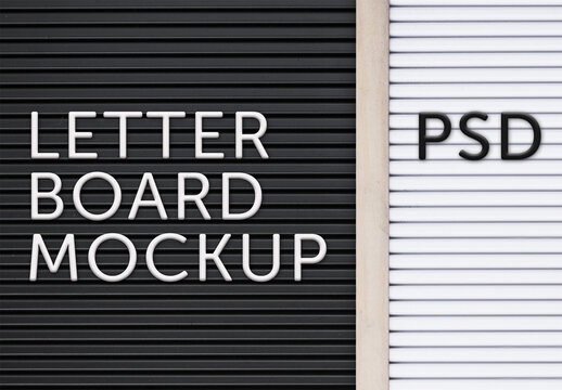 Letterboard Text Effect