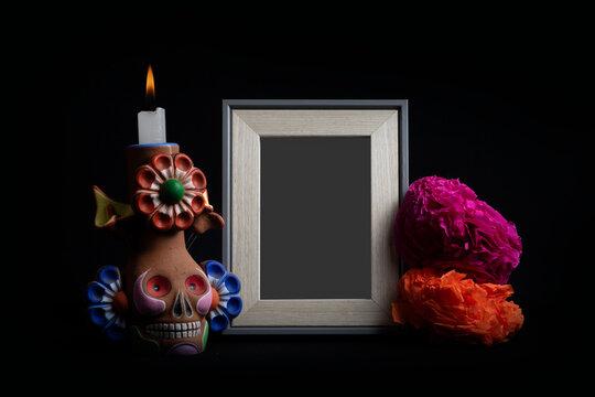 Dia de los muertos, Mini altar para dia de muertos  / Mini altar for day of the dead