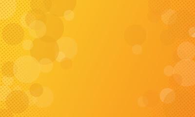 abstract geometric shape orange background