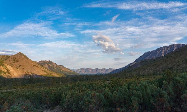 Mountains of Kolyma, East Russia