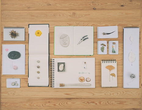 Notebooks composition