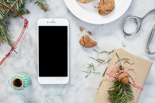 Christmas Chaos Surrounding a Phone